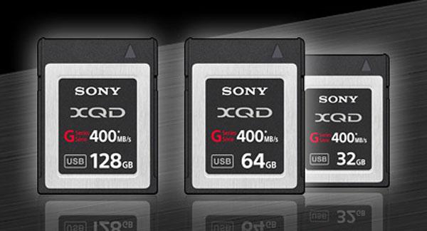 XQD / QDG cards