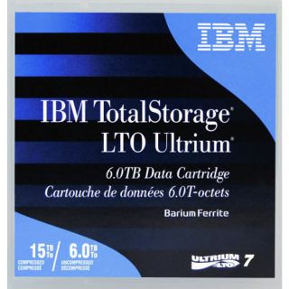 IBM LTO7 38L7302 Tape Data Storage Media